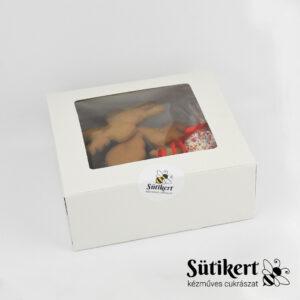 Díszíthető mézeskalács figurák díszdobozban